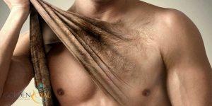 از بین بردن موهای زائد بدن مردان
