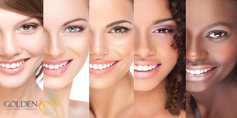 تاثیر نوع پوست بر لیزر موهای زائد